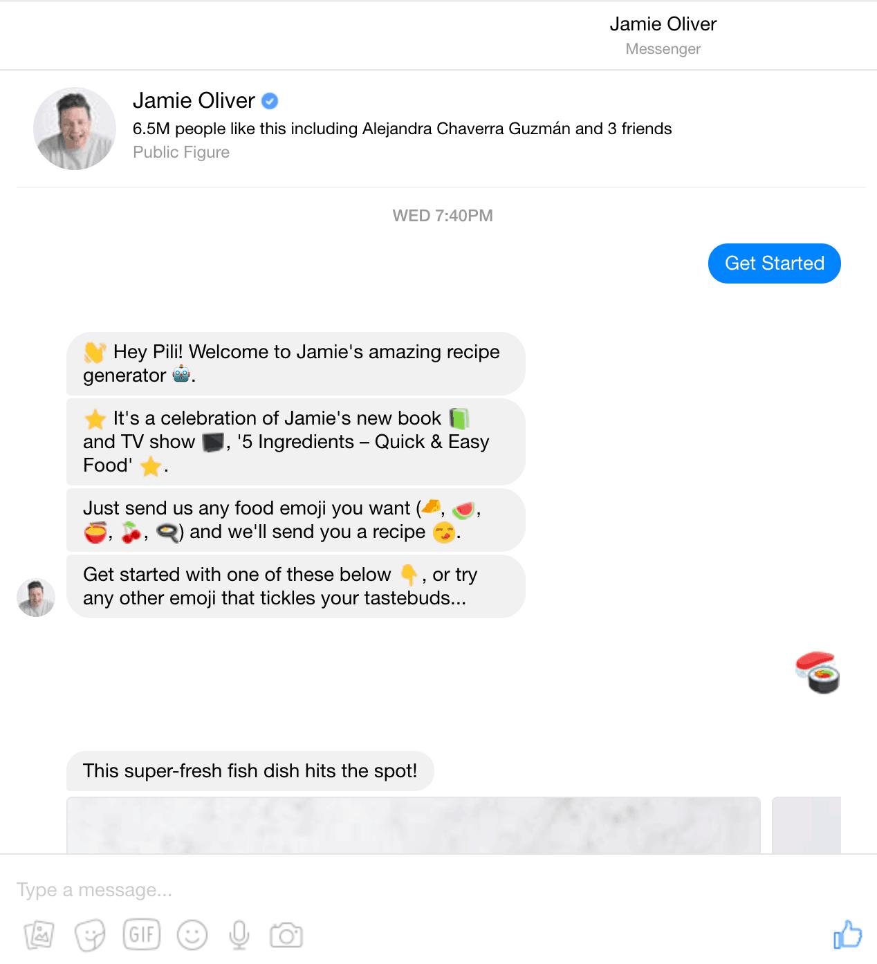 Messenger Marketing Chat Bot educacional